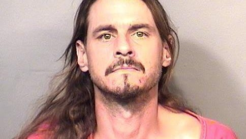 Charles Roberts, 42, was arrested and charged on Monday afternoon.
