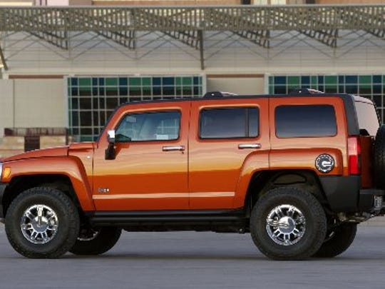 General Motors sold its Hummer H3 and other big trucks until discontinuing the brand during its 2009 bankruptcy.