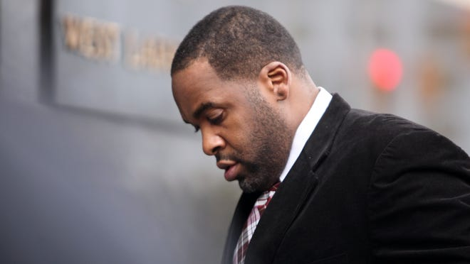 Ex-Detroit Mayor Kwame Kilpatrick says he can't afford to hire an attorney to defend against a lawsuit filed against him by the city water department.