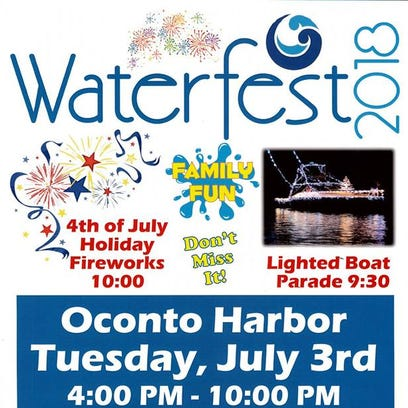 Live music, boat parade planned for Waterfest on July 3