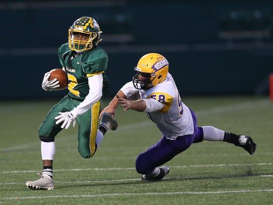 High school football: 11 Section V players earn small-school