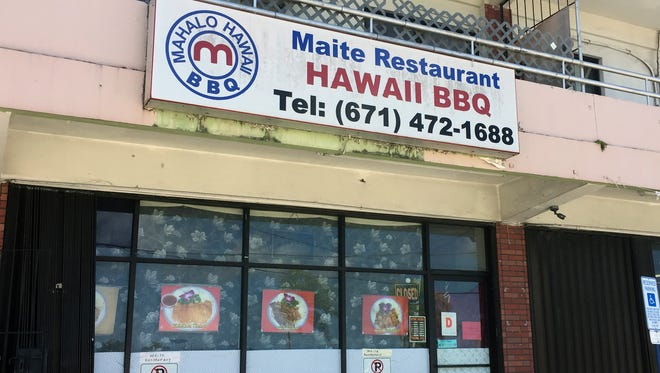 Maite Restaurant, as shown on March 15, 2018, was closed on March 14 after it failed a Public Health inspection.