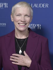 Iconic singer and activist Annie Lennox teamed with