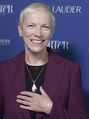 Iconic singer and activist Annie Lennox teamed with Apple Music to launch a video Thursday in support of global feminism.