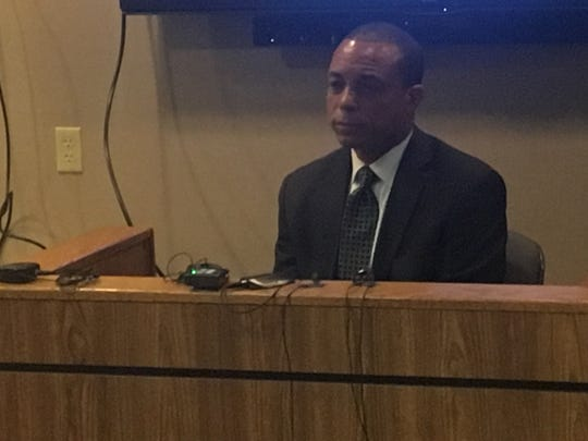 Harvey Hollins III testified in the preliminary examination
