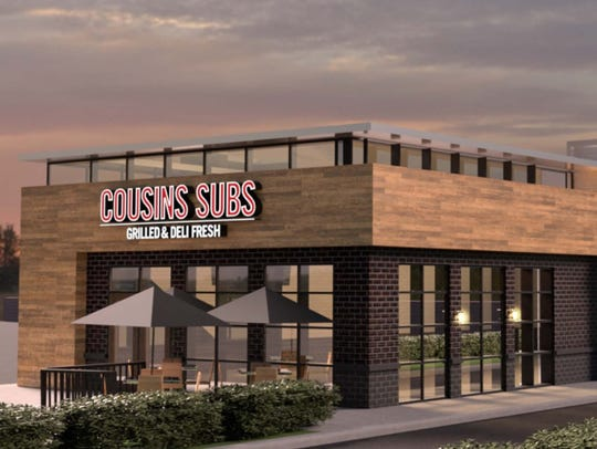 A Cousins Subs restaurant is planned for 12320 W. Burleigh