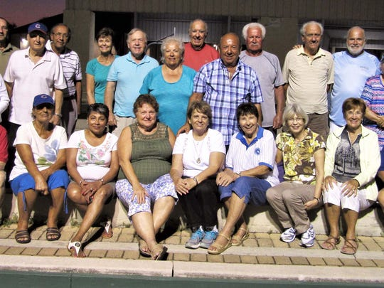 Every Friday night a hearty bunch of Italian American Society members gather for Twilight Bocce at Mackle Park. Three courts are open to members
