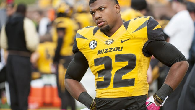 Missouri opens Southeastern Conference play Saturday at Kentucky (2-1) and hopes Russell Hansbrough, a 1,000-yard rusher last year, can revive the running game.
