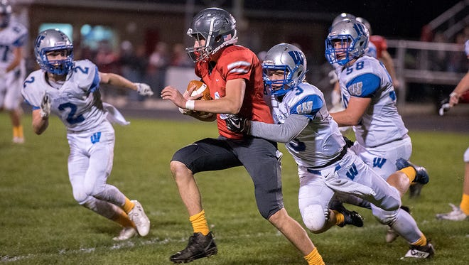 Buckeye Central played its heart out against a Wynford team nobody expected them to compete with.