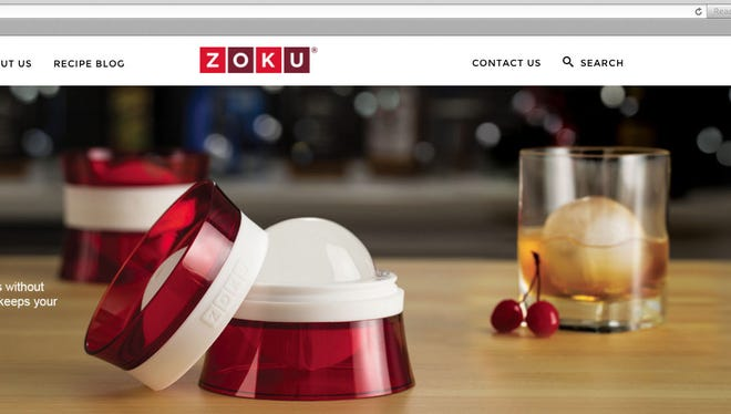 The Zoku Ice Ball keeps drinks colder longer with less dilution.