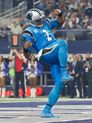 Cam Newton and the Panthers are the only unbeaten team