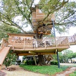 "The Graves family treehouse in Baton Rouge will be featured on an episode of Animal Planet's ""Treehouse Masters"" on Mar 6."