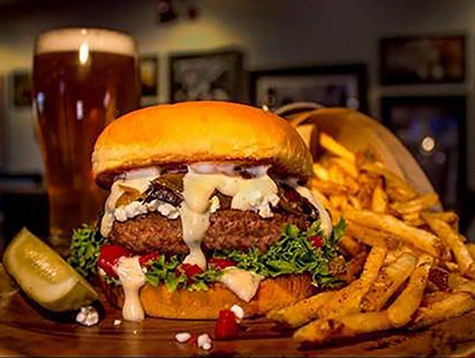 Burger Theory Happy Hour Menu Food