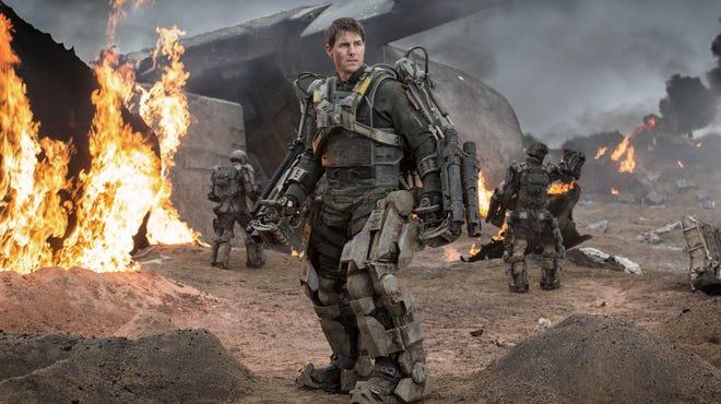 """Tom Cruise stars in """"Edge of Tomorrow."""""""