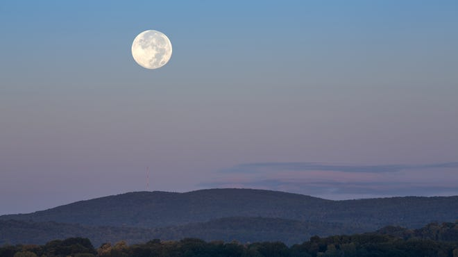 Poughkeepsie resident Maria Gemma June recently submitted this photo of a full harvest moon taken at her home. Do you have a nature photo to share? Send it to dradwin@poughkeepsiejournal.com.