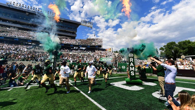 CSU's football team was in the spotlight when it took the field Aug. 26 for its first game at its new on-campus stadium. The Rams will get even more attention this Saturday, when they face top-ranked Alabama in a nationally televised game in Tuscaloosa. Ala.