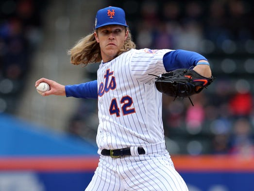 April 15: Noah Syndergaard, Mets, 11 vs. Brewers.
