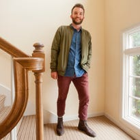 I'll buy what he's selling. Louisville realtor 'closes the deal' on men's fashion