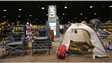 Cabela's has an extensive camping section with virtual
