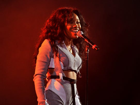 SZA performs onstage at Vevo Halloween 2017 at Craneway