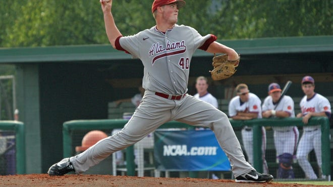 Jimmy Nelson, shown here against Clemson in the 2010 NCAA super regionals, has emerged as the Milwaukee Brewers' No. 1 prospect.