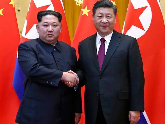 China North Korea Meeting Kim Jong Un Xi Jinping