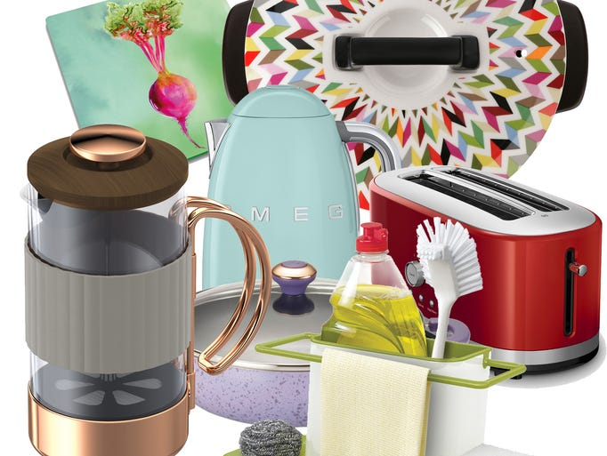 Sedate-but-stylish colors and shapes, from modern to