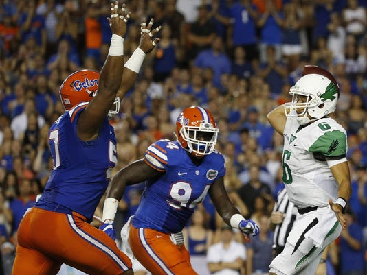 NCAA Football: North Texas at Florida