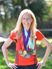 Cindy Bishop of Merritt Island will soon run in a marathon