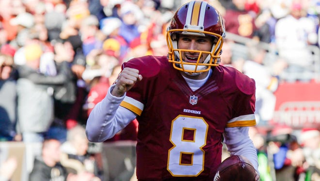 The emergence of Kirk Cousins at quarterback is one of the reasons the Washington Redskins are optimistic heading into this season.