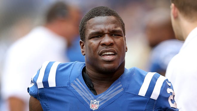 Colts running back Frank Gore is averaging just 3.6 yards per carry this season, his lowest total in his NFL career.