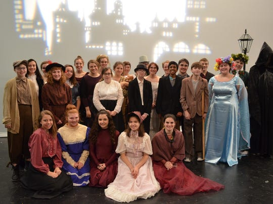 """Stevenson High School presents """"A Christmas Carol"""" at 7 p.m. Thursday, Friday and Saturday at the school's Performing Arts Center, 33500 Six Mile, Livonia. Tickets are $7 at the door."""