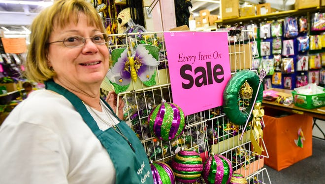 Owner Donna Melancon as Crystal Cottage holds going out of business Sale.