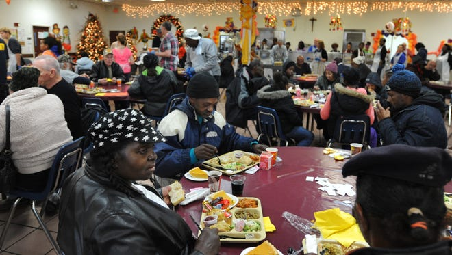 A Detroit institution, the Capuchin Soup Kitchen, was broken into overnight on the city's east side, police said Tuesday.