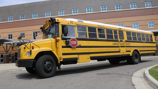 The Lansing School District anticipated saving $760,000 annually when it outsourced busing services to Dean Transportation in May 2014, but only saved $6,000.