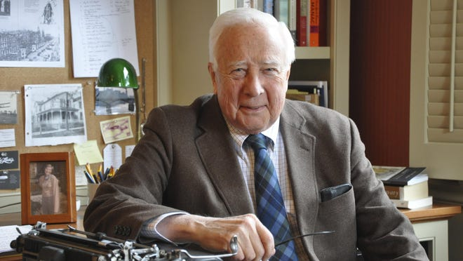 """David McCullough, Pulitzer prize-winning author of """"Truman"""" and other biographies, comes to Dearborn on June 10 to discuss his latest book, """"The Wright Brothers."""""""