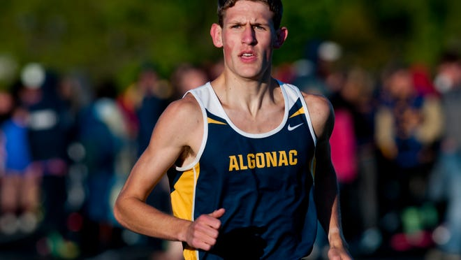 Algonac's Morgan Beadlescomb -- seen here during the 2015 track season -- is No. 1 in the state and No. 8 in the nation after Saturday's performance at the Portage Invitational.