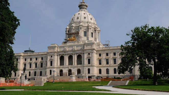 The Minnesota Capitol building in St. Paul.