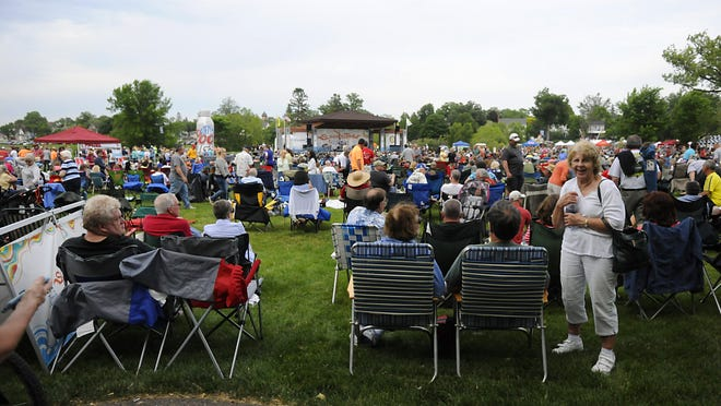 Summertime By George! organizers have decided to not reschedule an earlier concert that was rained out.