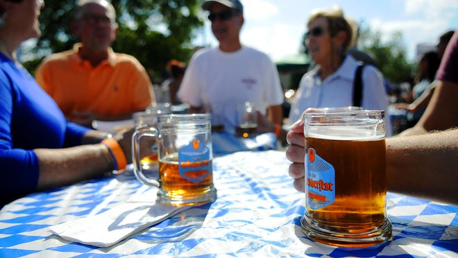Beaver Island Brewing Co.'s Oktoberfest Marzen Lager, which will be served at their Sept. 29 Oktoberfest celebration, is an award-winner and is brewed using hops from Spalt, Germany.