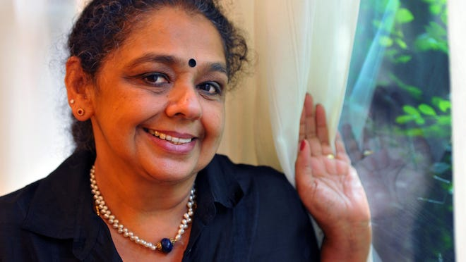 Ambika Ravindran Palaniyandi is passionate about women's issues and the city of Titusville.
