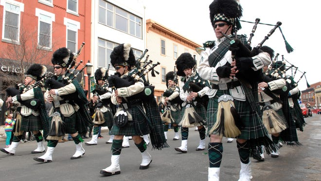 Bagpipers were a highlight of last year's Asbury Park St. Patrick's Day Parade.