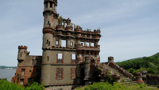 The castle at Bannerman Island-Hudson Highlands State Park sits on the north side of Pollepel Island in the Hudson River. A benefit dinner featuring farm-fresh fare will be held at the site Sept. 10.