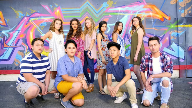 The contestants of the 2016 Visalia Teen Idol competition.