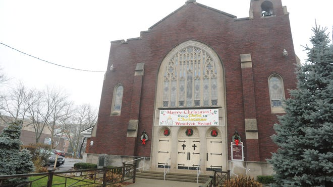 St. Joseph's Church in the city of Poughkeepsie