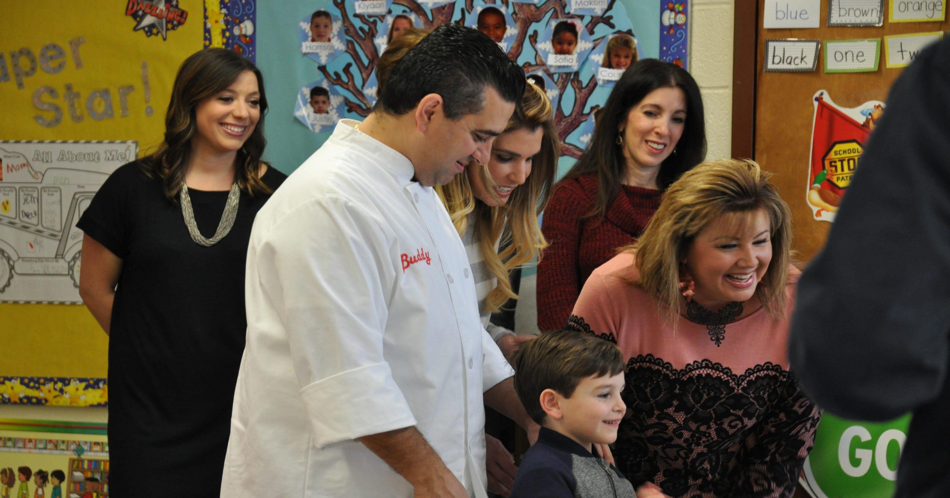 Cake Boss' son fills special order for Montville teacher