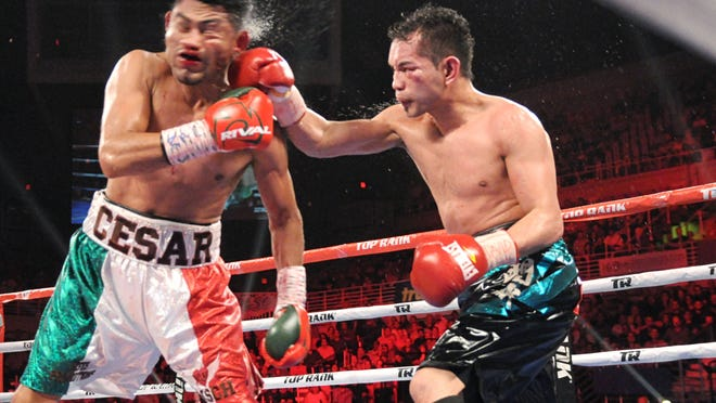 Nonito Donaire Scores Bloody Decision Vs Cesar Juarez To Win 122pound Title