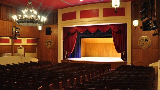 The Gubelmann Auditorium is the main auditorium at The Society of the Four Arts.