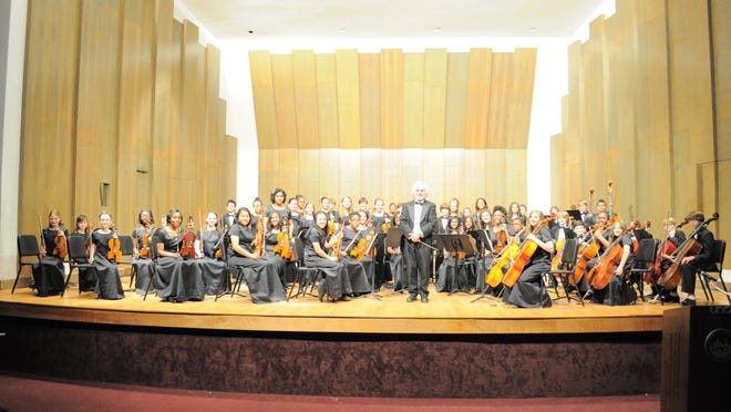 The Alexandria Junior Philharmonic Orchestra, a group of 62 students in fourth through seventh grades from Phoenix Magnet Elementary and Scott M. Brame Middle School, won first place in the junior string orchestra division and grand champion at the Crescent City Music Festival in New Orleans that was Thursday through Sunday. John De Chiaro directs the orchestra.