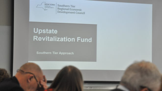 The proposed $1.5 billion upstate revitalization fund was the major topic of conversation at Monday's meeting of the Southern Tier Regional Economic Development Council.